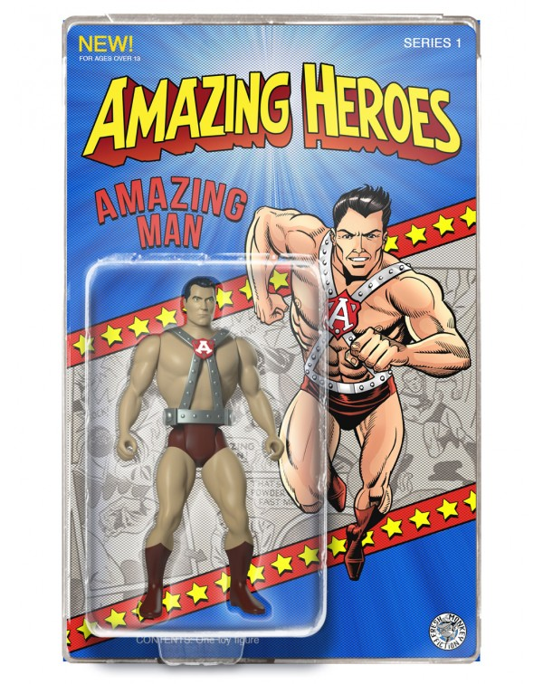 Amazing Man Action Figure