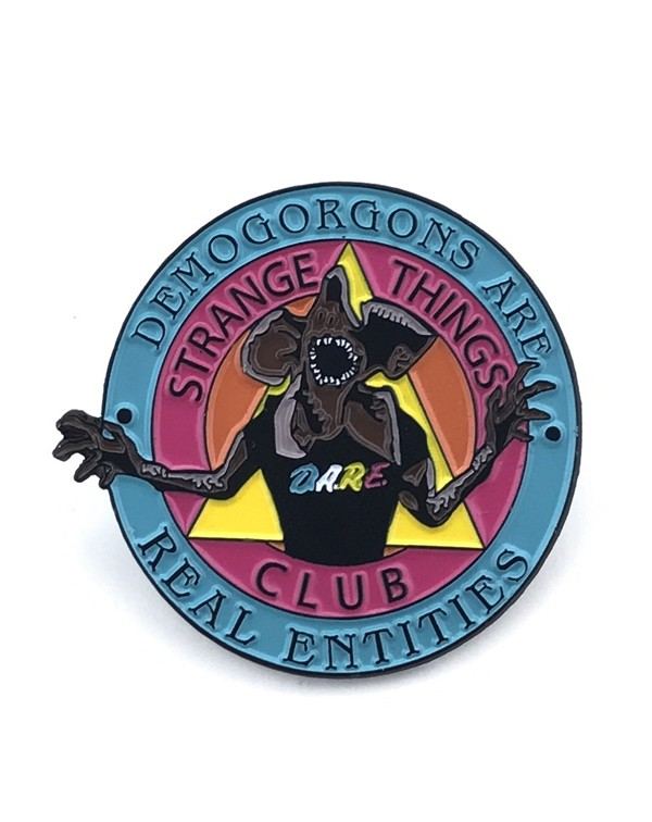 "Strange Things Club ""D.A.R.E."" Pin: Nove..."