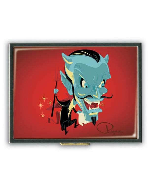 Ragnar Devil Made Me Do It Pop Art Cigarette Case