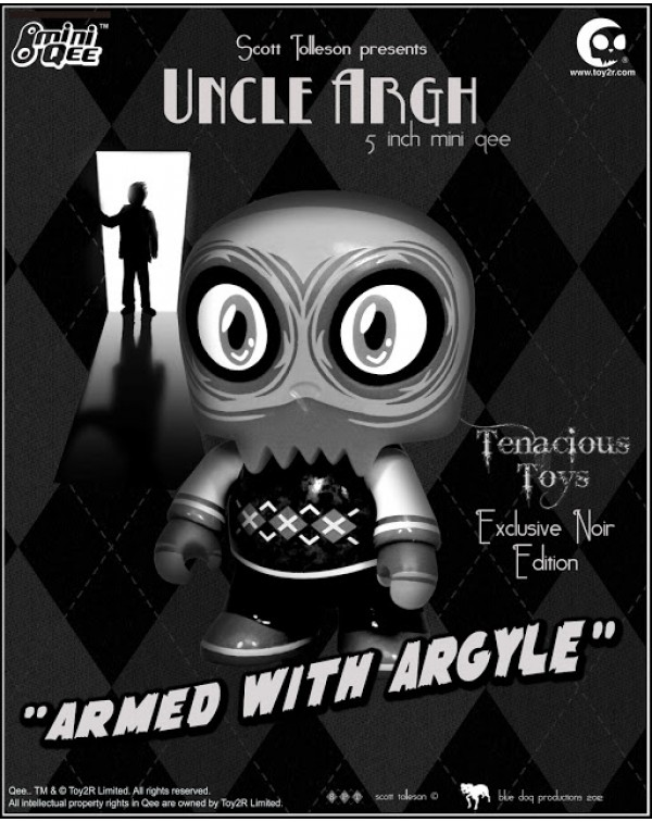 Uncle Argh Noir Mini Qee