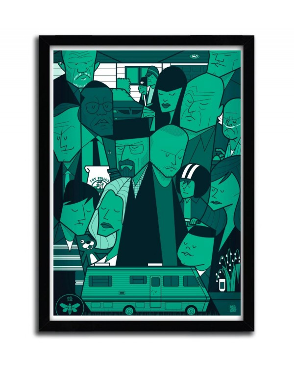 Breaking Bad Green by Ale Giorgini