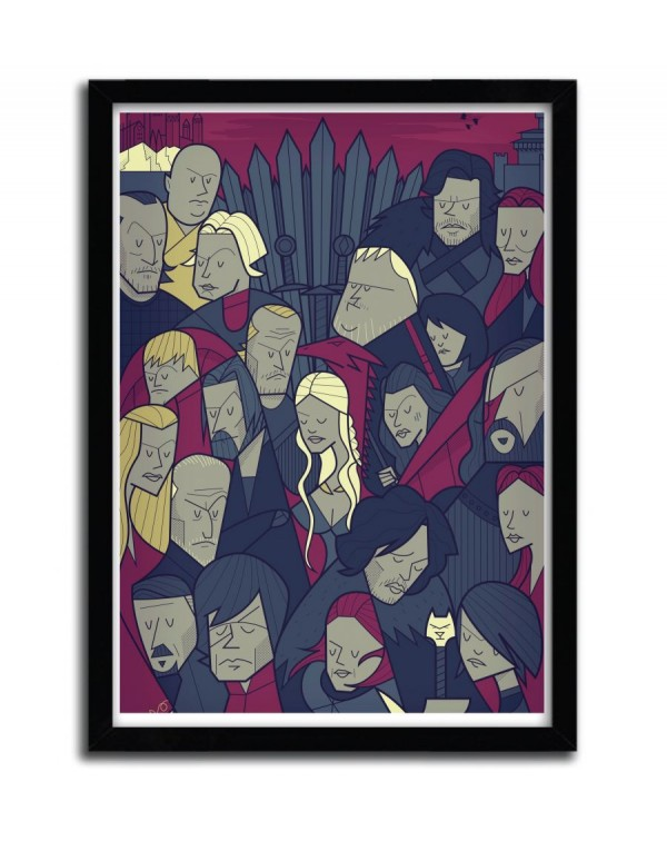 Game Of Thrones by Ale Giorgini