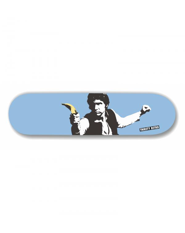 Han Solo Banana Gun SK8 By Thirsty  Bstrd