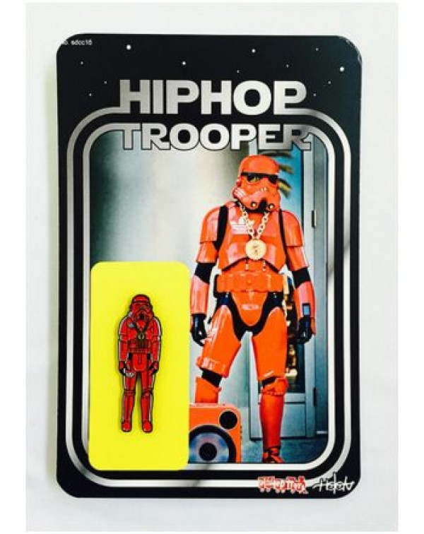 Vintage Hip Hop Trooper Lapel Pin by Special Ed To...