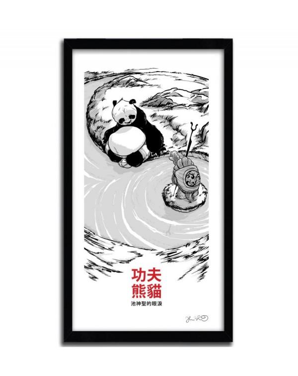 King  Fu Panda by Joshua Budich