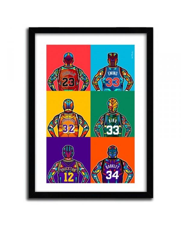 NBA Legends by Van Orton