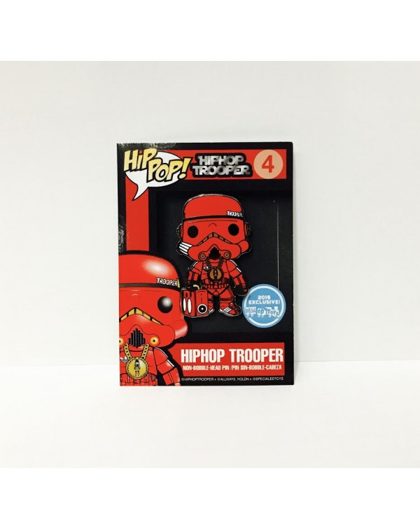 Hip Pop! Trooper Pin