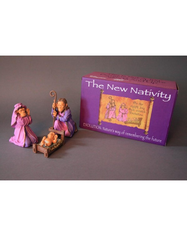 Ron English - The New Nativity