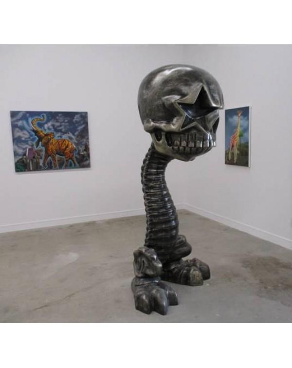 """Ron English """"Star Skull Walking Stick"""" ..."""