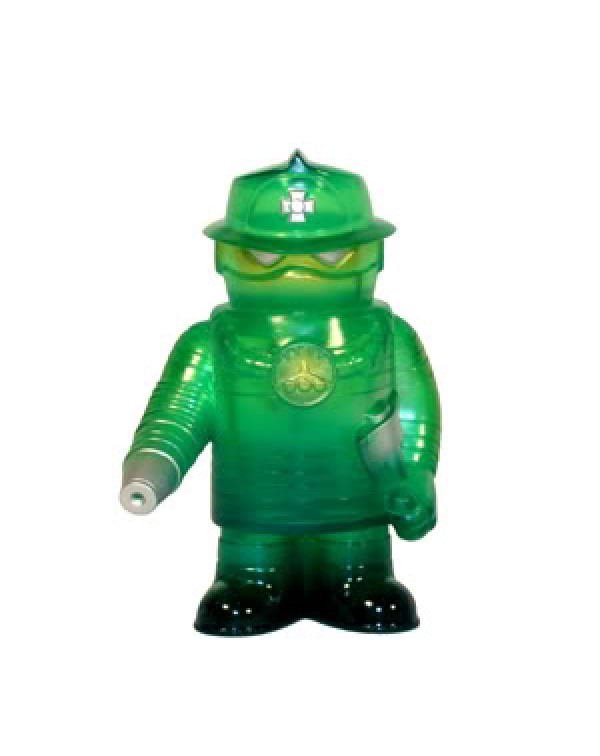 Fire Robo - Translucent Green