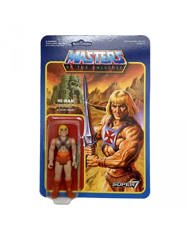 He Man v2 - 3.75 Wave 2 ReAction Figure