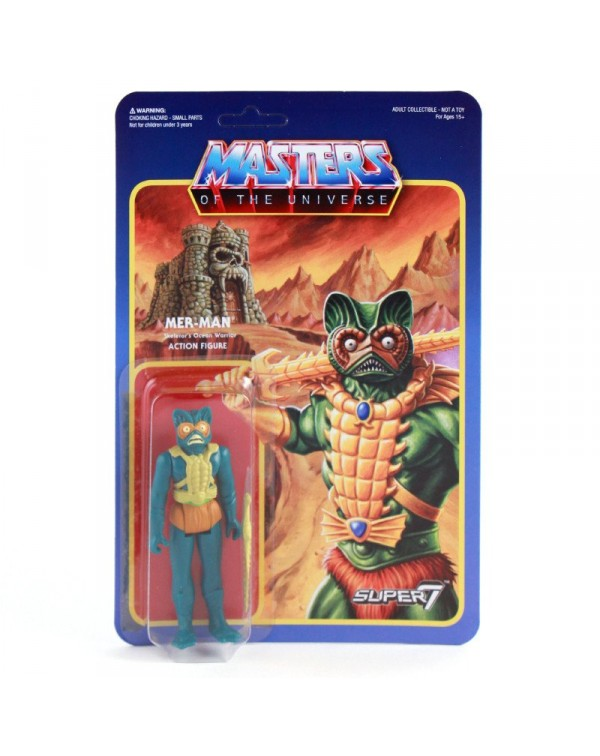 Mer-Man Retro Action Figure