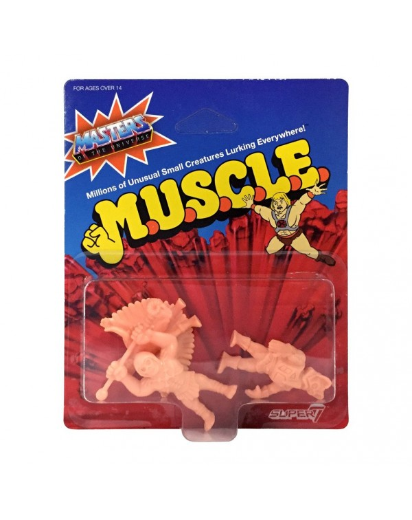 Masters Of The Universe MUSCLE (Wave 2) - Pack C ...