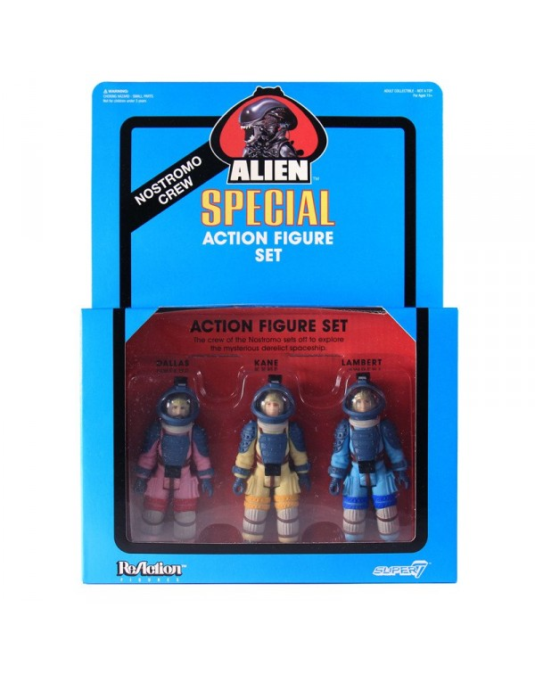 Alien Nostromo 3-Pack
