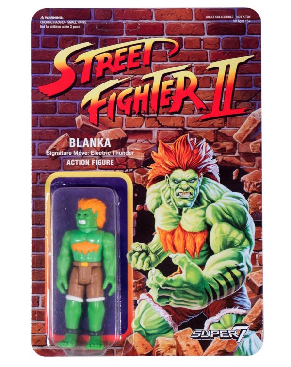 Street Fighter 2 - Blanka Action Figure