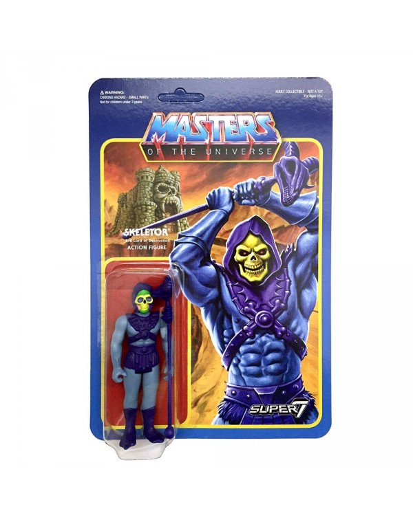 Skeletor Retro Action Figure