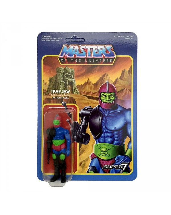 Trap Jaw - 3.75 Wave 2 ReAction Figure