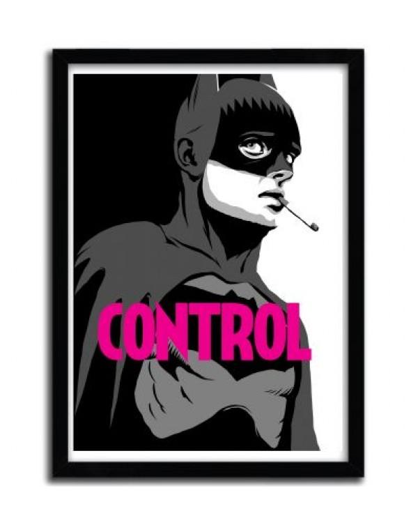 Bat Control B&W by Butcher Billy