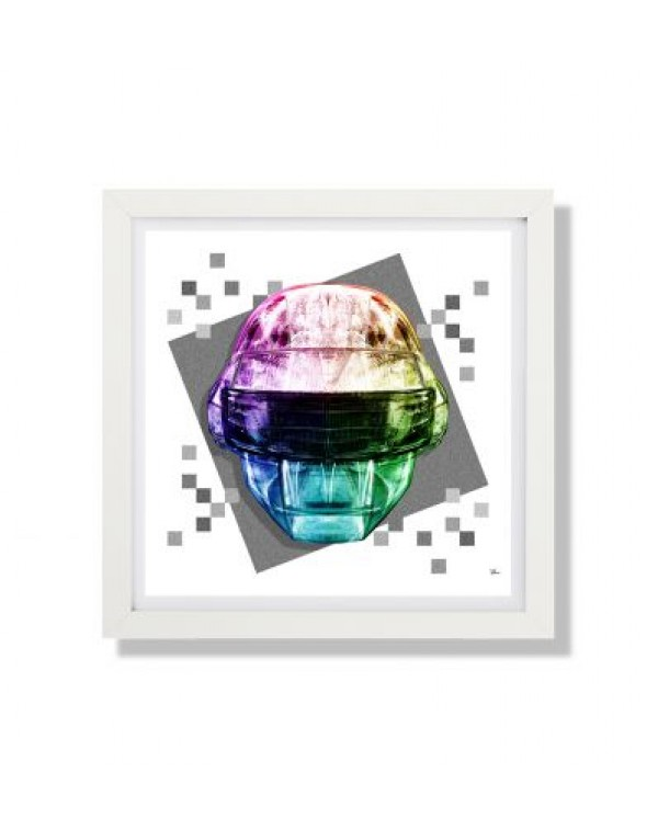 Daft Face Full Color 1 SQ by Rubiant