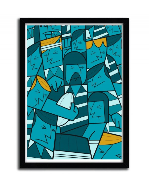 Rugby by Ale Giorgini