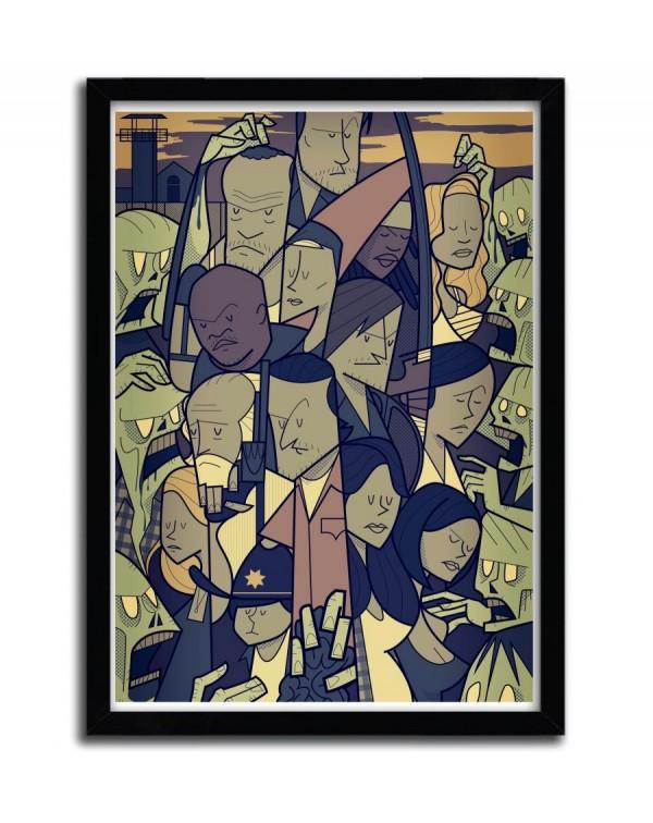The Walking Dead by Ale Giorgini
