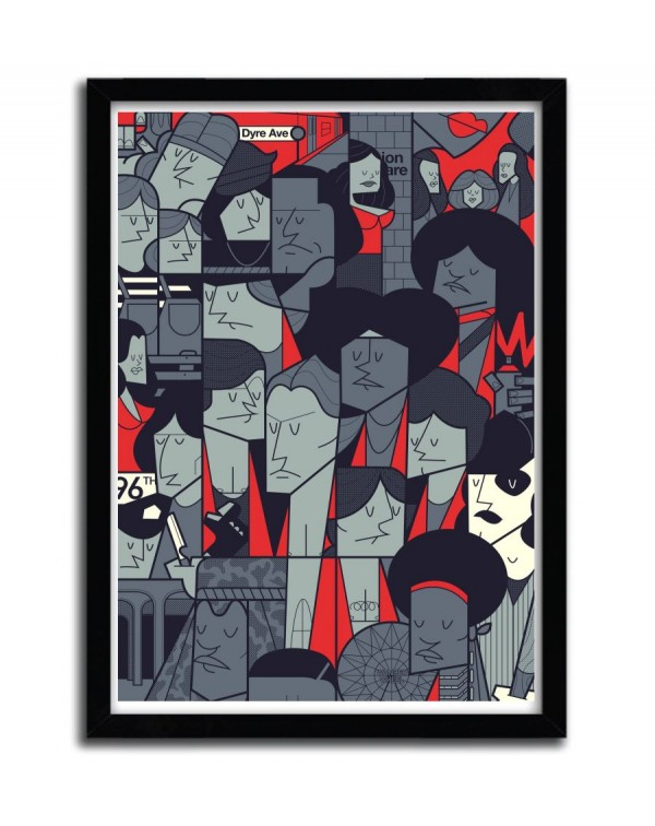 The Warriors by Ale Giorgini