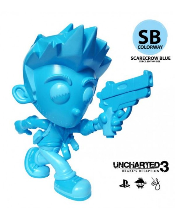 Uncharted Nathan Drake - Scarecrow Blue Colorway